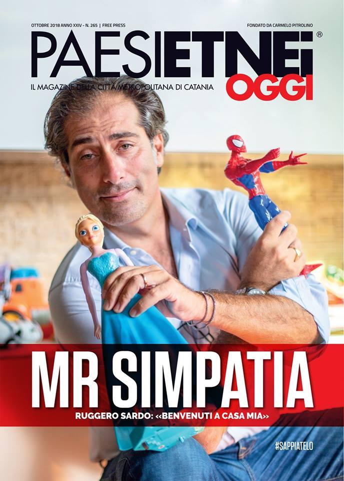 "Paesi Etnei Oggi n. 265 Ottobre 2018. SMF: Marco Iacona ""Malepasque"""