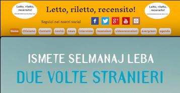 """SMF per Letto, riletto, recensito! – Recensione a """"Due volte stranieri"""" di Ismete Selmanaj Leba – Besa editrice"""