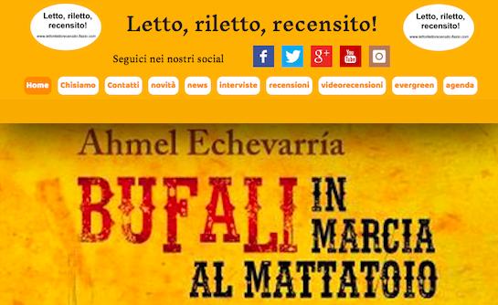 SMF per Letto, riletto, recensito! – Intervista esclusiva ad Alessandro Oricchio