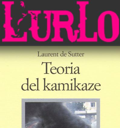 SMF per L'Urlo – Teoria del kamikaze di Laurent de Sutter – La recensione
