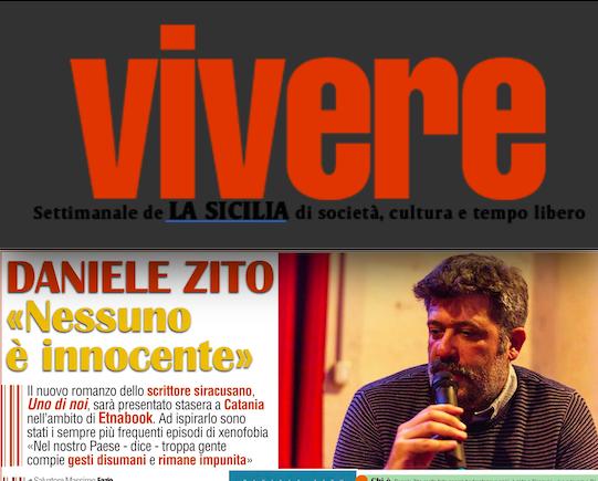 SMF per VIVERE – Daniele Zito «Nessuno è innocente»