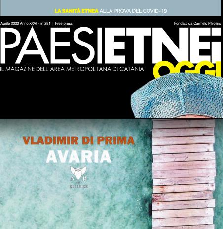 "SMF per Paesi Etnei Oggi n. 281 – Aprile 2020 – La recensione a ""Avaria"" di Vladimir Di Prima"