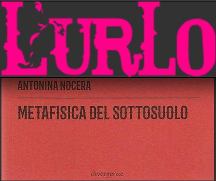 """SMF per L'Urlo – È """"Metafisica del sottosuolo"""" di Antonina Nocera il libro del mese – Luglio 2020"""