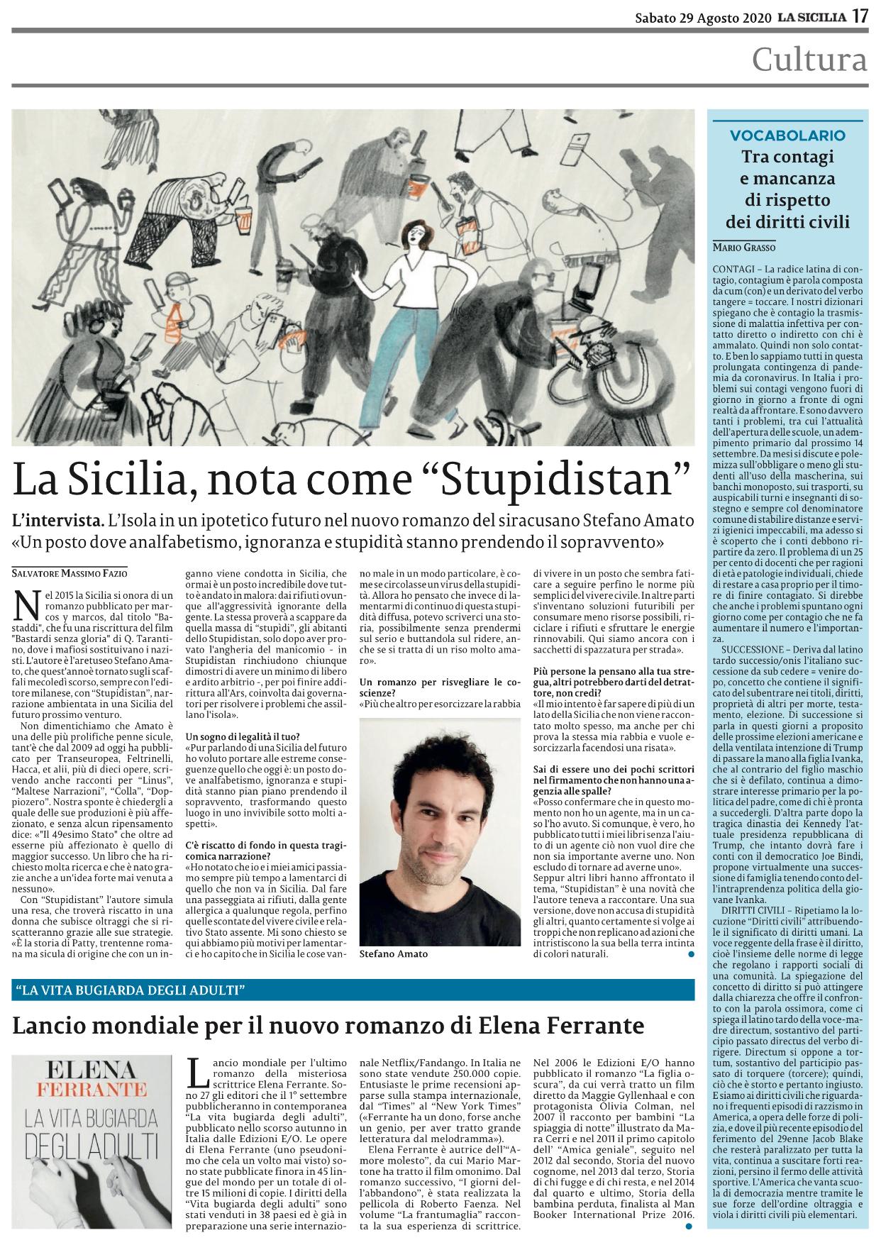 Clicca sulla pagina per acquistare La Sicilia in digitale