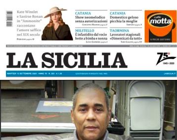 SMF per La Sicilia – «Razze e culture sempre mescolate» – L'intervista a Fernando Velazquez Medina autore di Caribe – Arkadia Editore