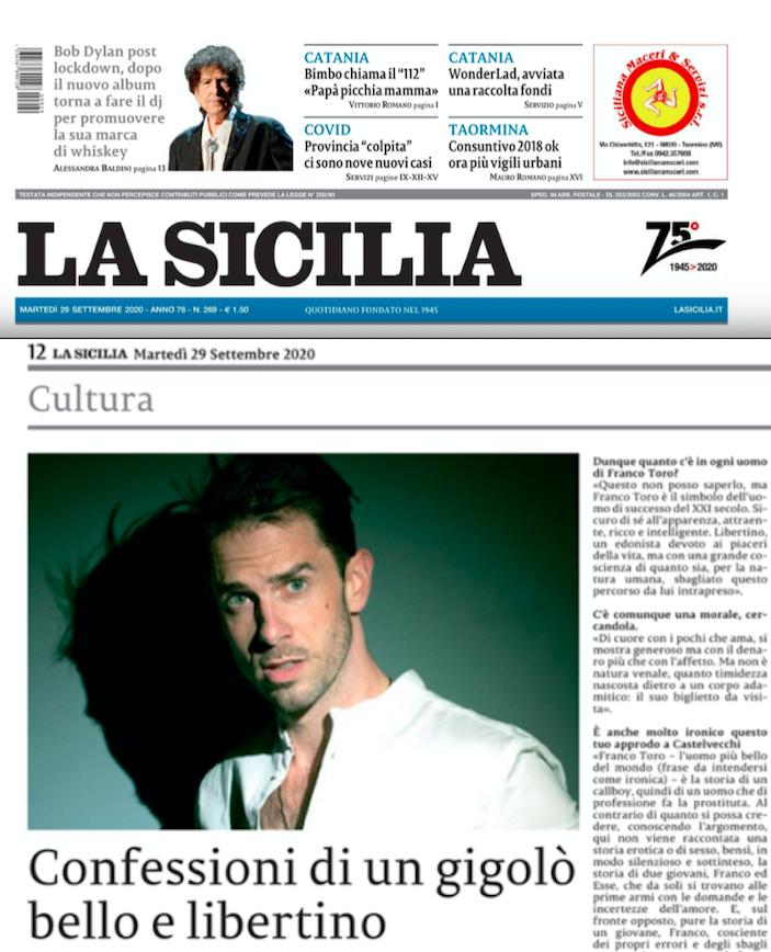 SMF per La Sicilia – Confessioni di un cigolò bello e libertino – L'intervista a Dario Neron