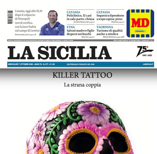 SMF per La Sicilia – Storia di teschi, di killer e tatuaggi – Intervista in esclusiva a Daniela Schembri Volpe