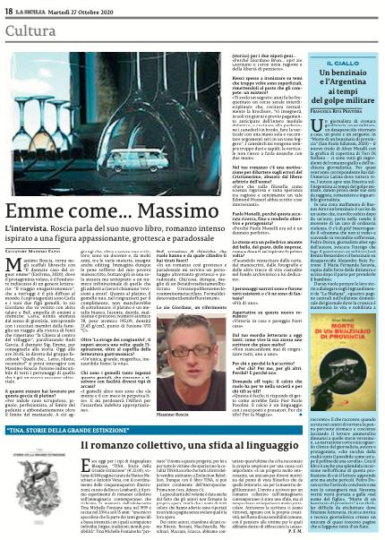 Clicca sulla pagina per acquistare La Sicilia del 27 ottobre
