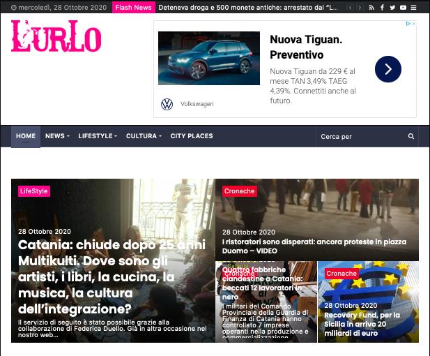 SMF per L'Urlo – Catania: chiude dopo 25 anni Multikulti. Dove sono gli artisti, i libri, la cucina, la musica, la cultura dell'integrazione?