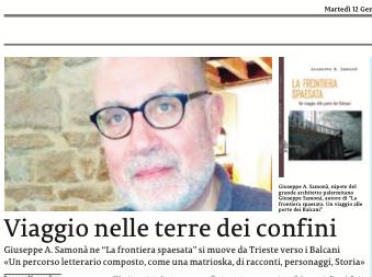 """SMF per La Sicilia – Viaggio nella terra dei confini – L'intervista a Giuseppe A. Samonà autore de """"La frontiera spaesata"""" ExOrma"""