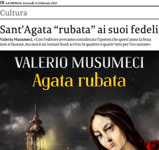 SMF per La Sicilia – Sant'Agata rubata ai suoi fedeli – L'intervista a Valerio Musumeci