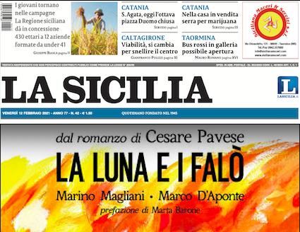 """SMF per La Sicilia – L'omaggio a Pavese nella graphic novel """"La luna e i falò"""" – L'intervista"""
