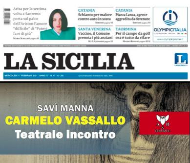SMF per La Sicilia – Storia del Mastro Melo raccontata da chi ha condiviso la sua arte – L'intervista a Savì Manna
