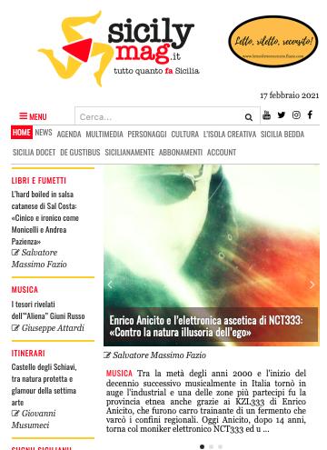 SMF per SicilyMag – Enrico Anicito e l'elettronica ascetica di NCT333: «Contro la natura illusoria dell'ego»