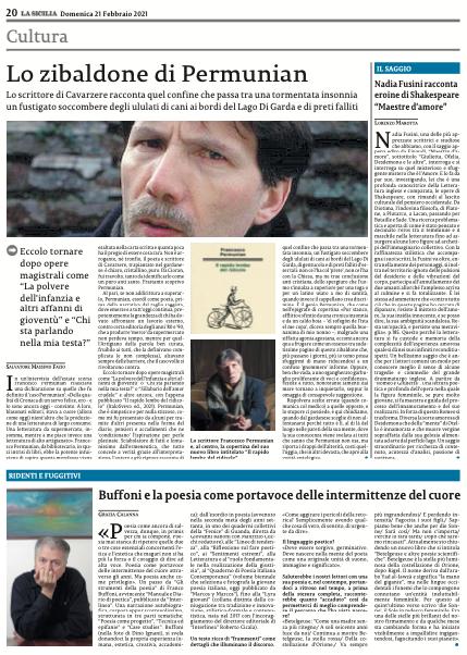 Clicca sulla pagina de La Sicilia per acquistare il quotidiano a € 0,99 e leggere l'articolo in versione integrale