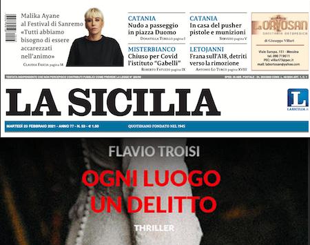 SMF per La Sicilia – Con Flavio Troisi un cacciatore di assassini in Val di Susa – Recensione e Intervista