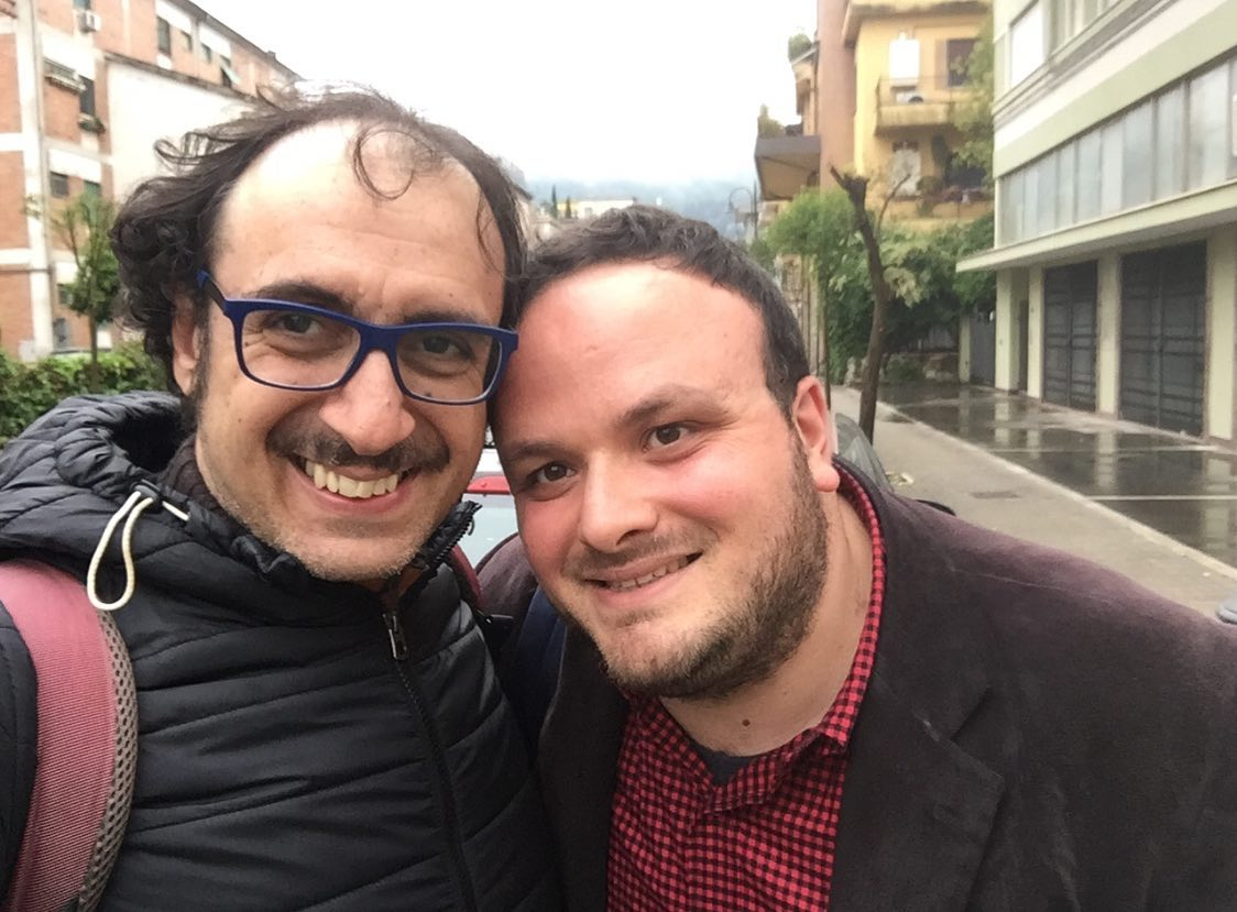 Francesco Giampietri e me