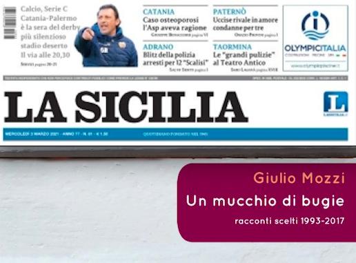 """SMF per La Sicilia – Se Giulio Mozzi si mostra mettendo in questione il """"verso"""""""