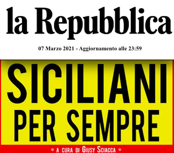 SMF su  La Repubblica Palermo – Ventiquattro voci per dire Sicilia