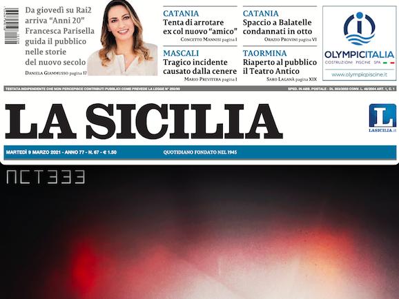 """SMF per La Sicilia – Arriva """"Aion"""" di Enrico Anicito figlio creativo della pandemia"""