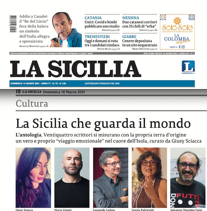 SMF su La Sicilia – La Sicilia che guarda il mondo