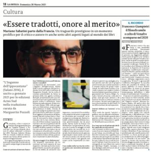 Clicca su La Sicilia per leggere l'articolo integrale