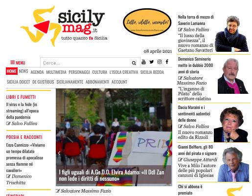 SMF per SicilyMag – I figli uguali di A.Ge.D.O. Elvira Adamo: «Il Ddl Zan non lede i diritti di nessuno»