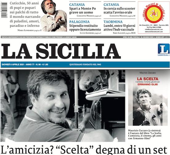 """SMF per La Sicilia – L'amicizia? """"Scelta"""" degna di un set – Intervista a Maurizio Zaccaro"""