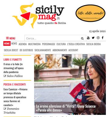 """SMF per Sicilymag – Le eroine silenziose di """"Virità"""". Giusy Sciacca: «Parola alle donne»"""