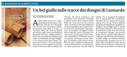 SMF per La Sicilia – Un bel giallo sulle tracce di Leonardo