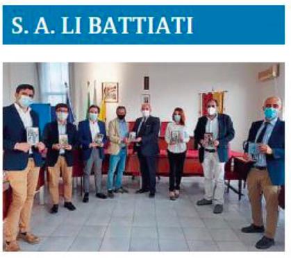 SMF su La Sicilia – S.A. Li Battiati: I libri della DSE donati alla Biblioteca Comunale