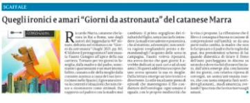 Clicca sull'articolo per leggerlo integralmente su La Sicilia