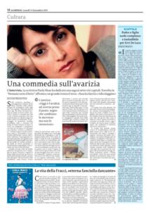 Clicca sulla pagina de La Sicilia per leggere l'articolo in versione integrale