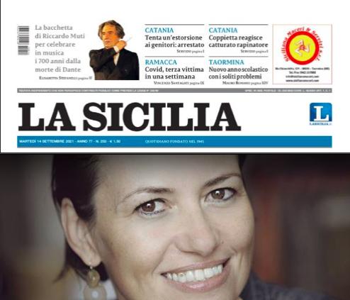 SMF su La Sicilia – Bianca Bellovà, la regina ceca del romanzo (di Gabriella Magistro)