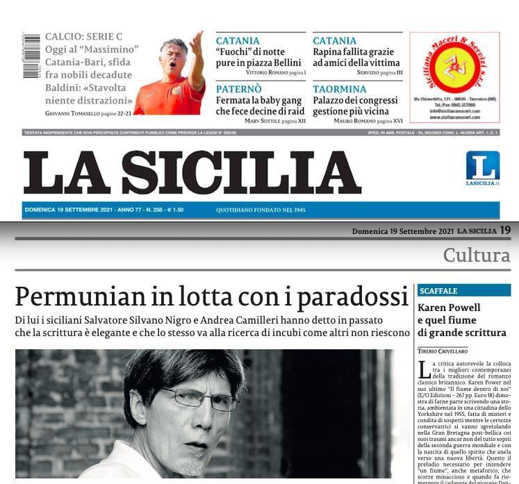 SMF per La Sicilia – Permunian in lotta con i paradossi