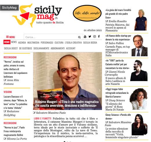 SMF per SicilyMag – Massimo Maugeri: «L'Etna è una madre magmatica che suscita avversione, devozione e indifferenza»