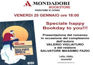 Mondadori Piazza Roma, presentazione  Dalla parte opposta Valerio Vigliaturo