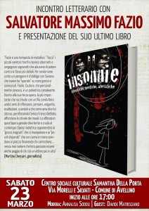 Presentazione Insonnie ad Avellino