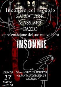 Presentazione Insonnie - Vicolo Stretto, Catania