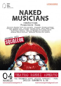Naked Musicians, Teatro Rossi - Pisa