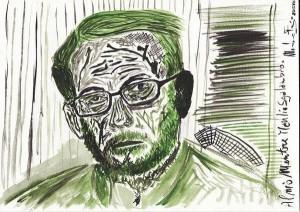 Ritratto di Manlio Sgalambro